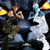Jennifer en Lara Croft